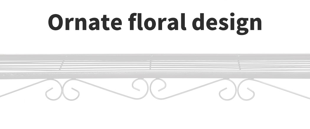 Levede-Plant-Stands-Outdoor-Indoor-Metal-Black-Flower-Pot-3-Garden-Corner-Shelf thumbnail 77