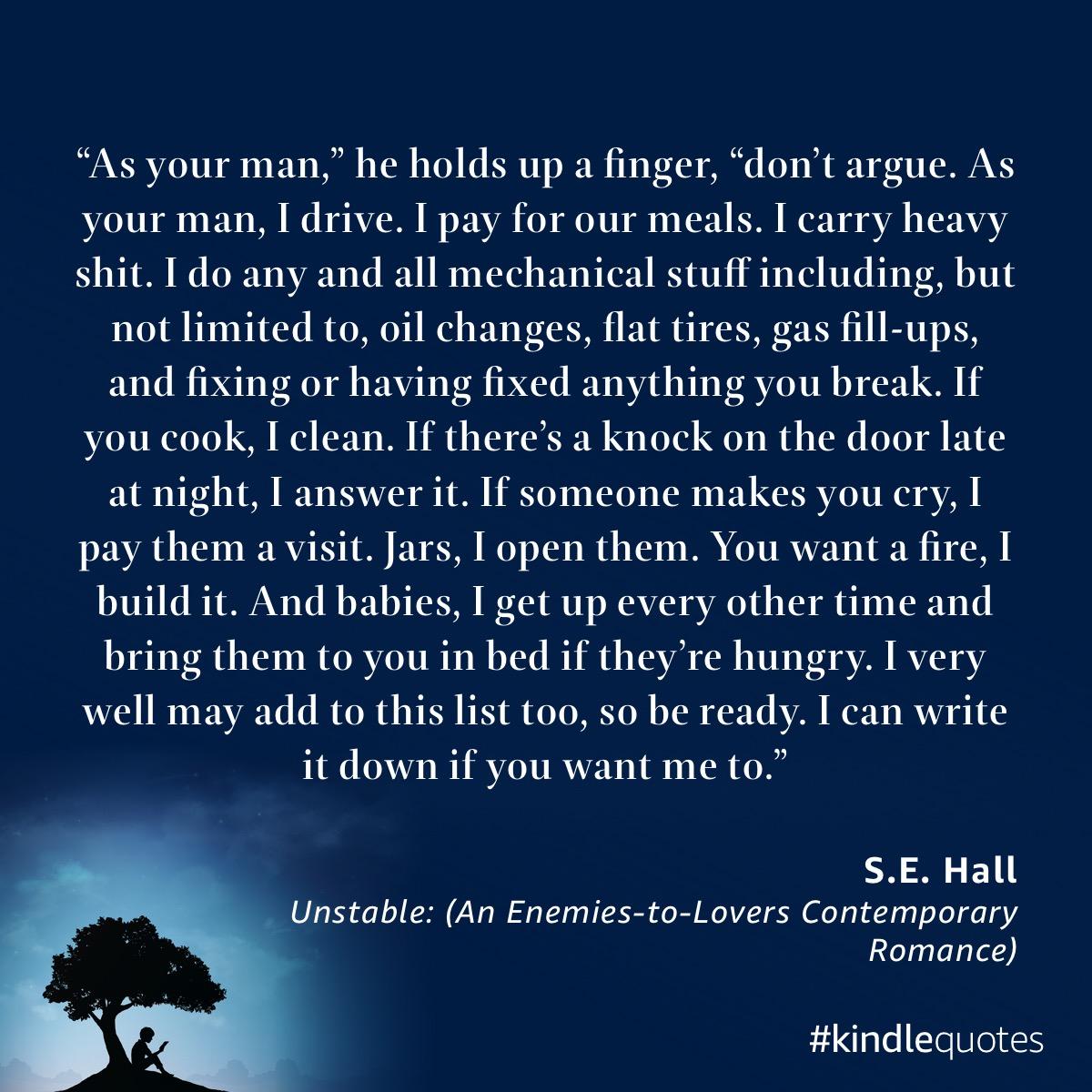 Book quote SE Hall