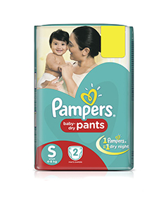 Pampers Pants Small