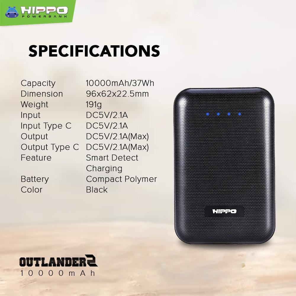Spesifikasi Hippo Outlander2 Compact