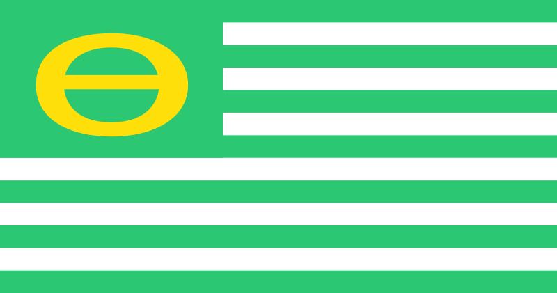 Bandera de la ecología