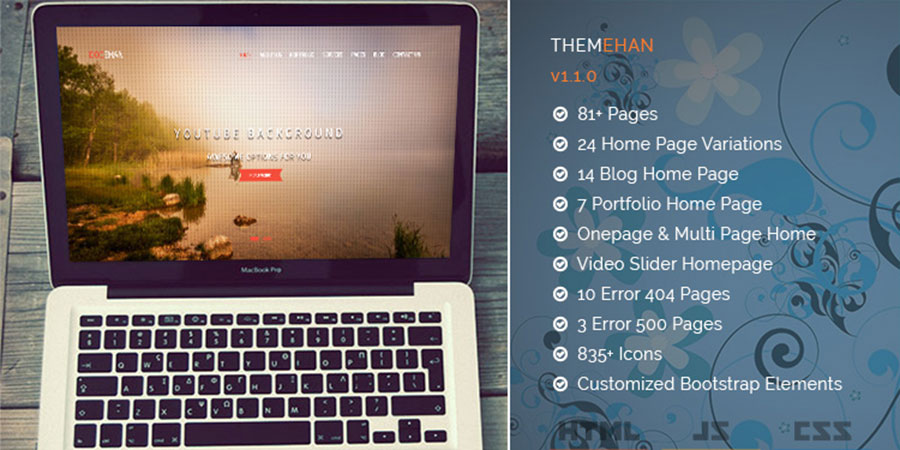 Docehan – Multipurpose HTML5 Bootstrap Sports Template