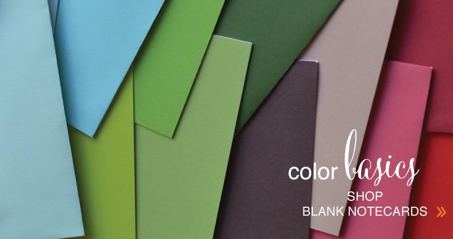 shop Blank Notecards