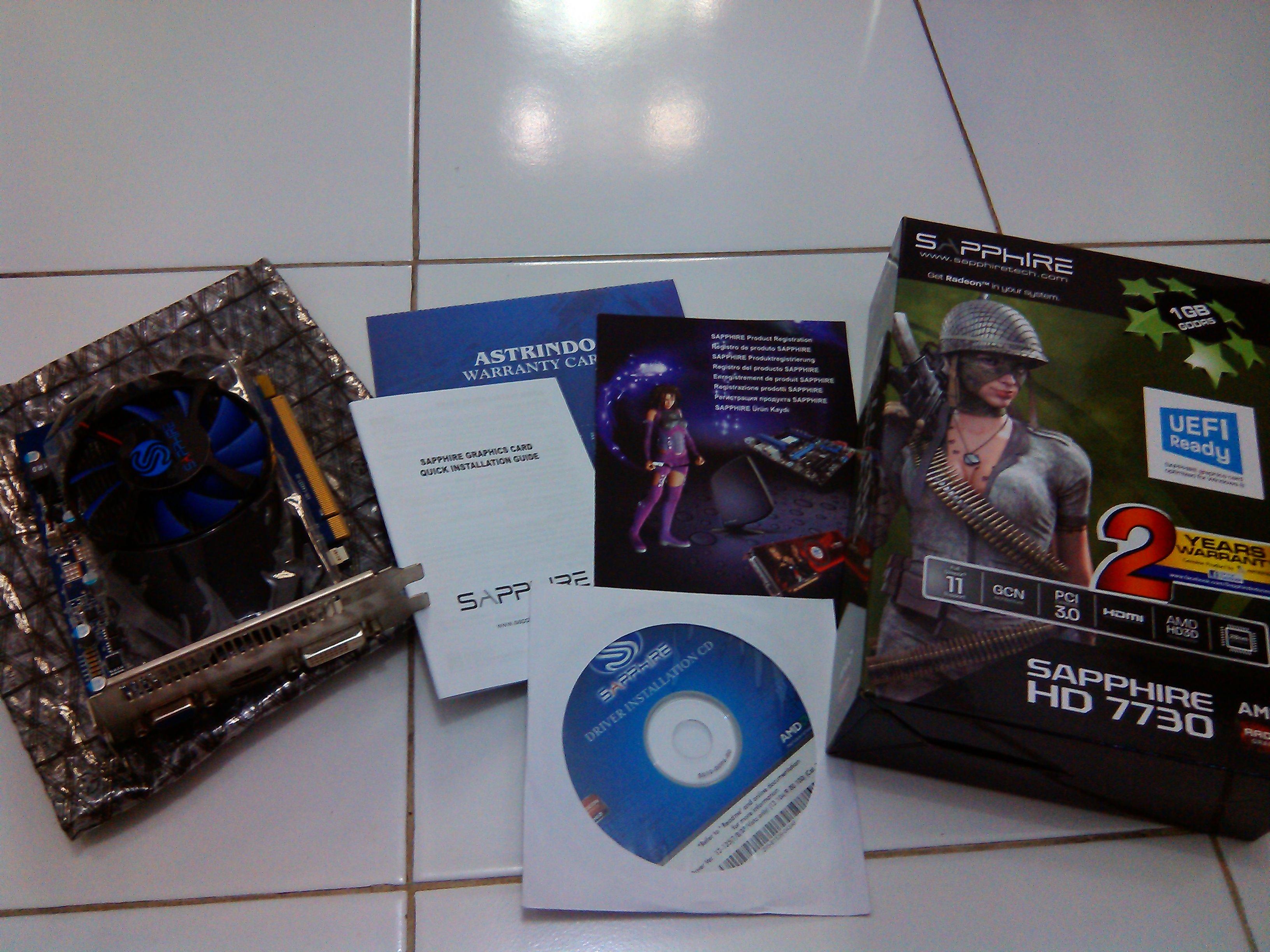 VGA Sapphire HD 7730 1GB DDR5 128bit