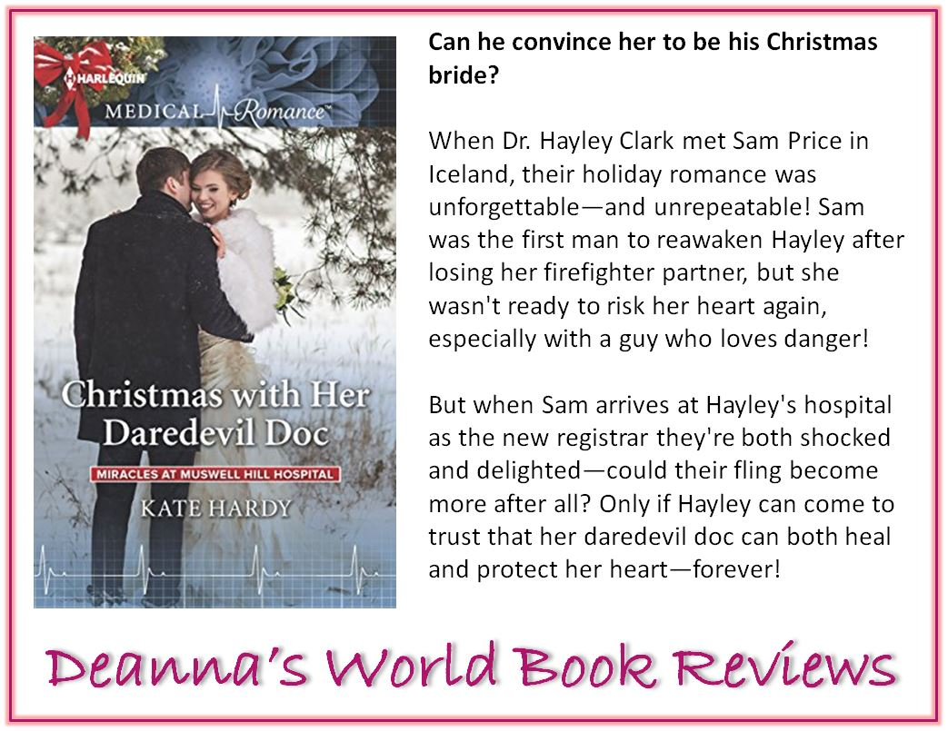 Christmas with her Daredevil Doc by Kate Hardy blurb