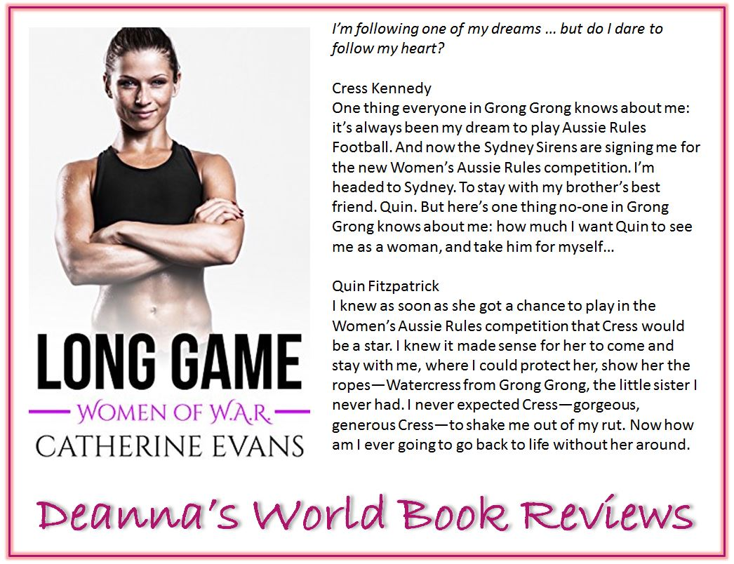 Long Game by Catherine Evans blurb