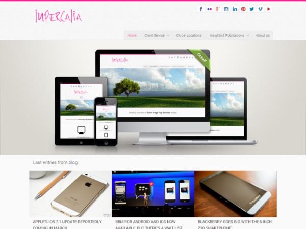 Lupercalia - free theme thang tu