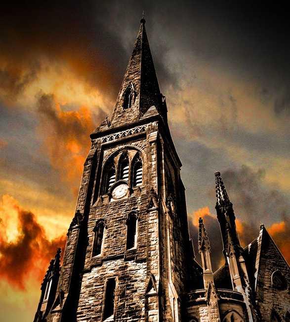 Церковь в Дамфрисе, где Роберт Брюс убил Джона Комина