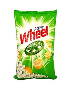 Active wheel Detergent 500gms
