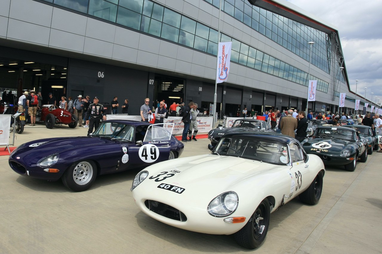 Silverstone to host special Jaguar E-Type catwalk display