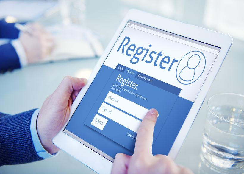 form registrasi