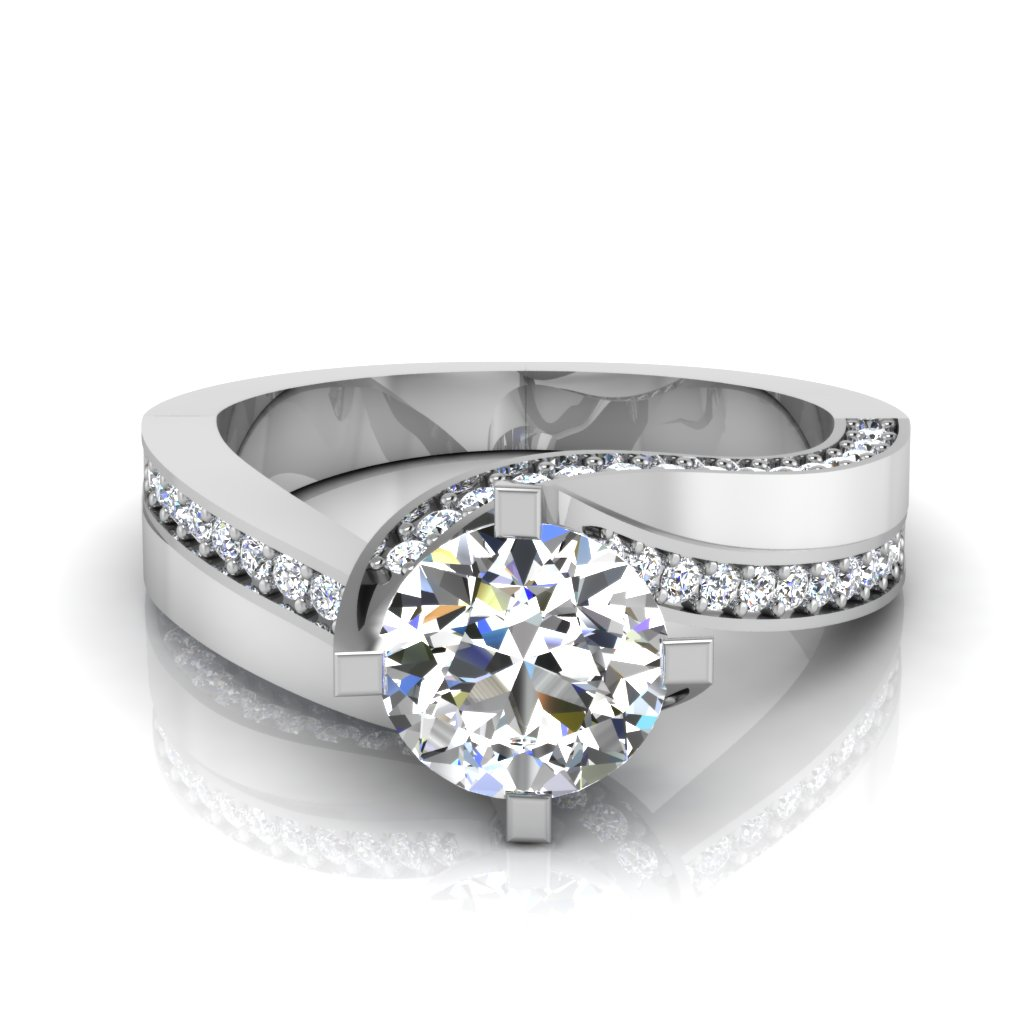 The Gavina Solitaire Ring