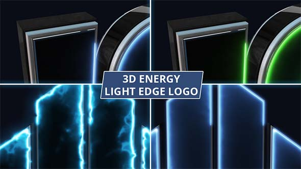 3D Energy Edge Logo