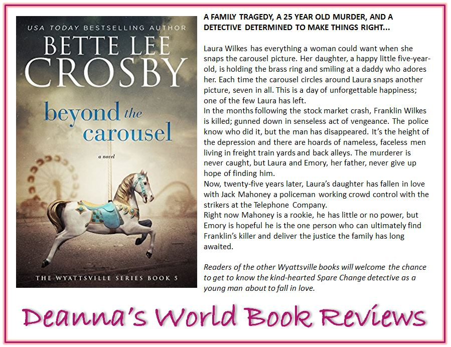 Beyond The Carousel by Bette Lee Crosby blurb