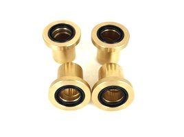 Bronze Upgrade! Front Lower A Arm Bushing Kit Polaris Sportsman X2 500 EFI 2006