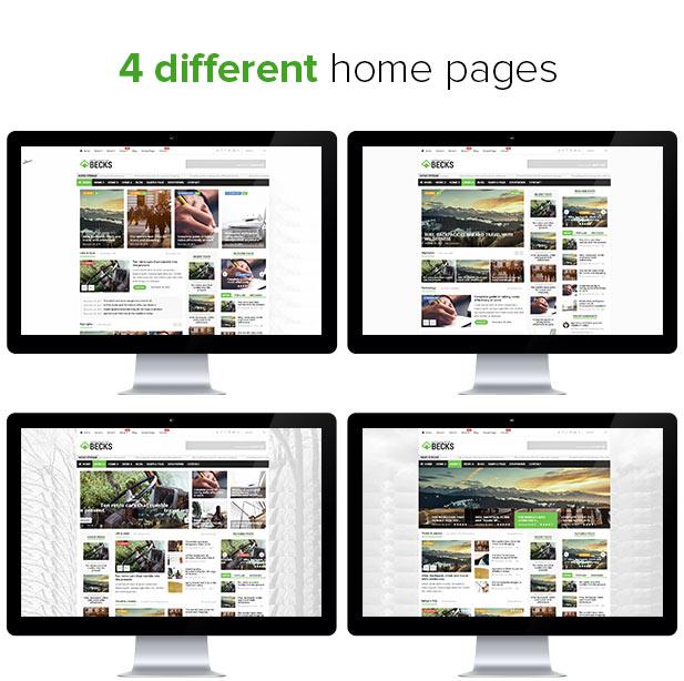 Becks -  WordPress News and Magazine Theme