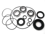 Left Rear Axle and Brake Panel Bearings and Seals Kit Honda TRX450FM 2002-2004