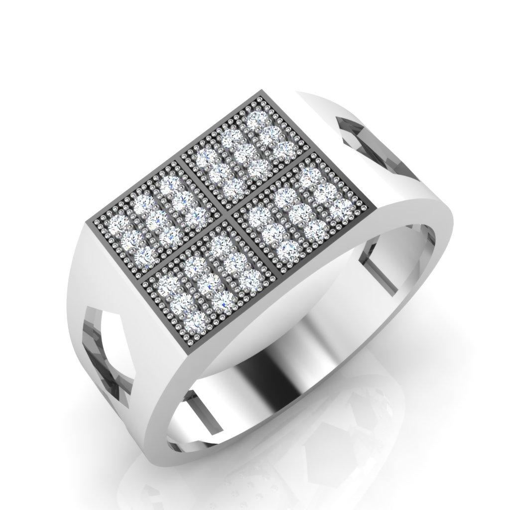 The Evans Diamond Mens Ring