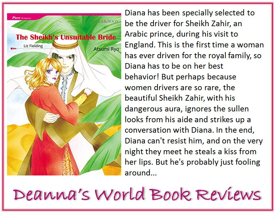 The Sheikh's Unsuitable Bride by Liz Fielding blurb