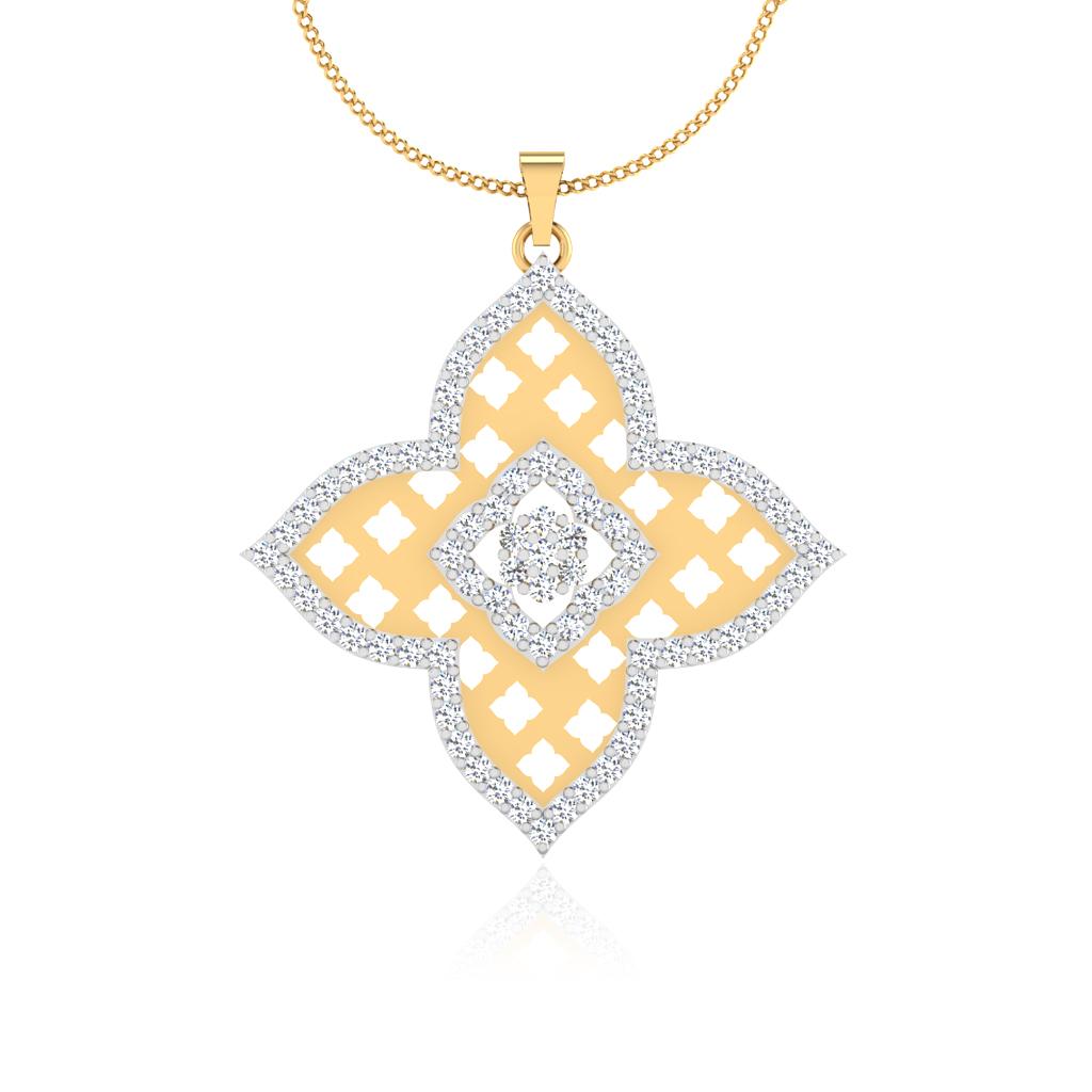 The Aditri Diamond Pendant