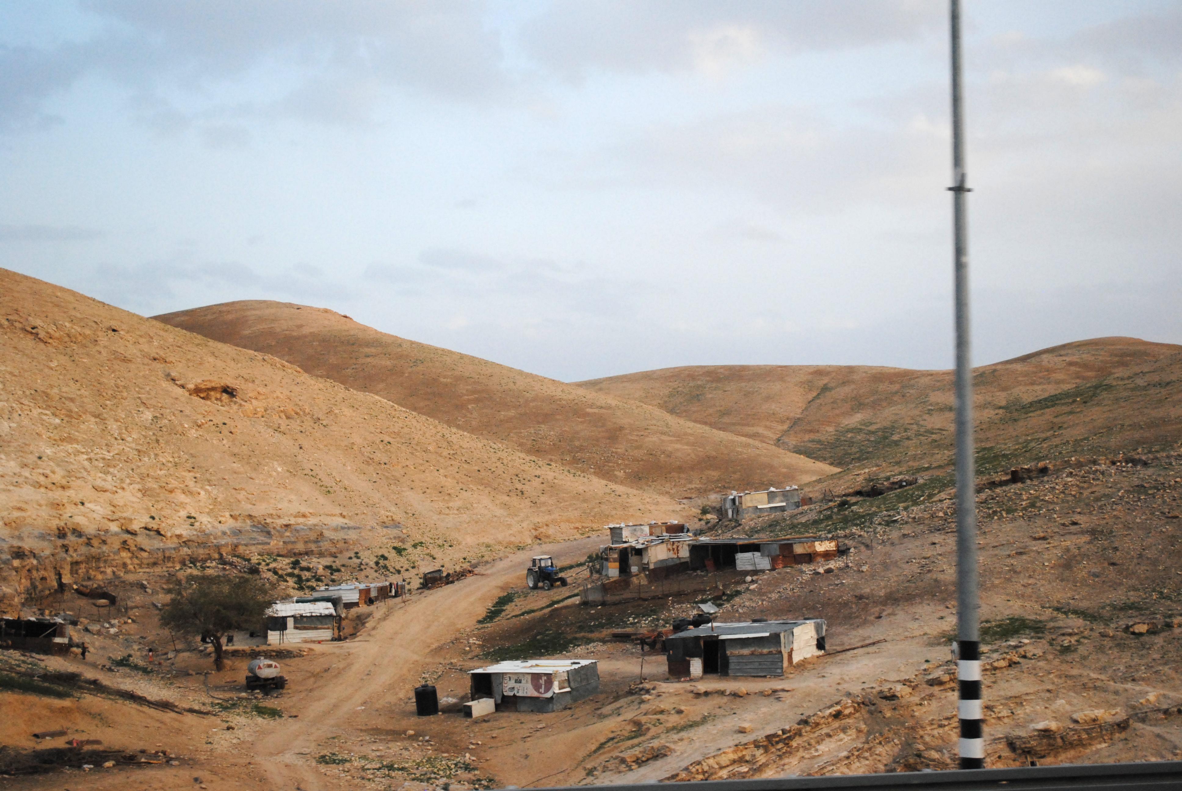 Поселения бедуинов