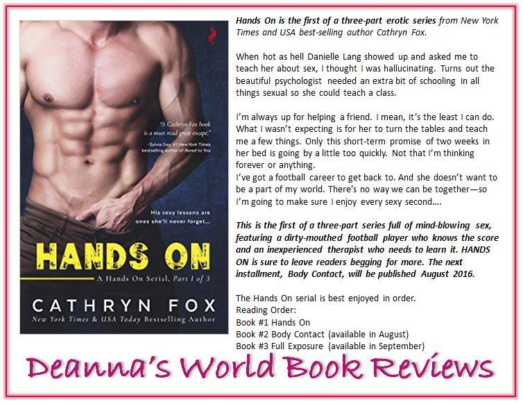 Hands On by Cathryn Fox blurb