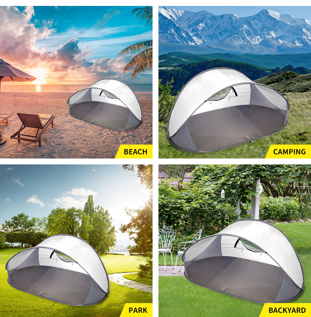 Mountvie-Pop-Up-Tent-Camping-Beach-Tents-4-Person-Portable-Hiking-Shade-Shelter thumbnail 33