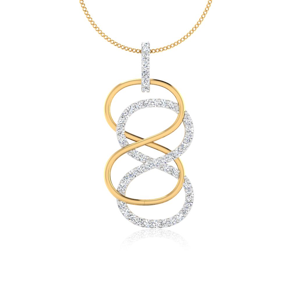 The Silion Diamond Pendant