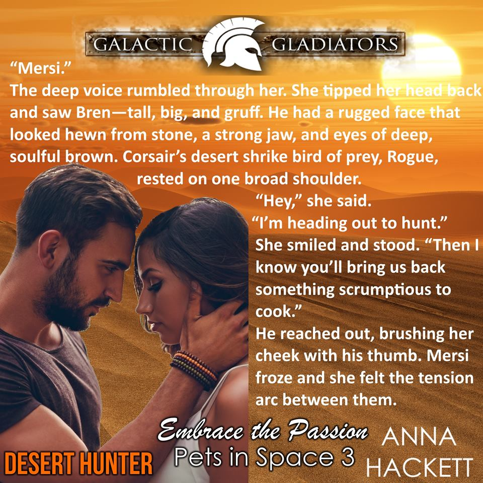 Desert Hunter by Anna Hackett teaser 2