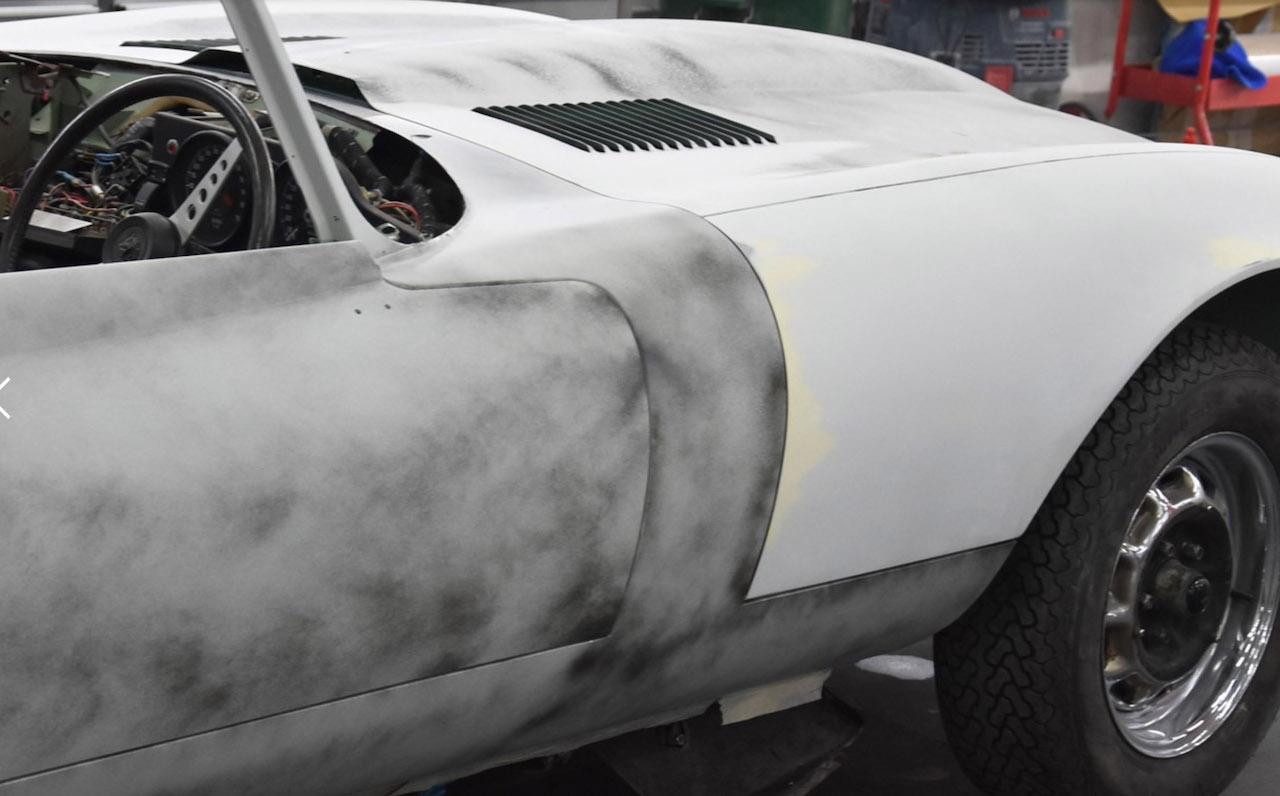 Kevin Keegan's 1972 Jaguar E-Type restored