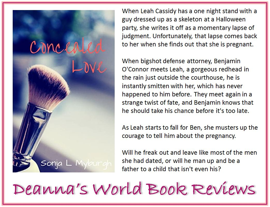 Concealed Love by Sonja L Myburgh