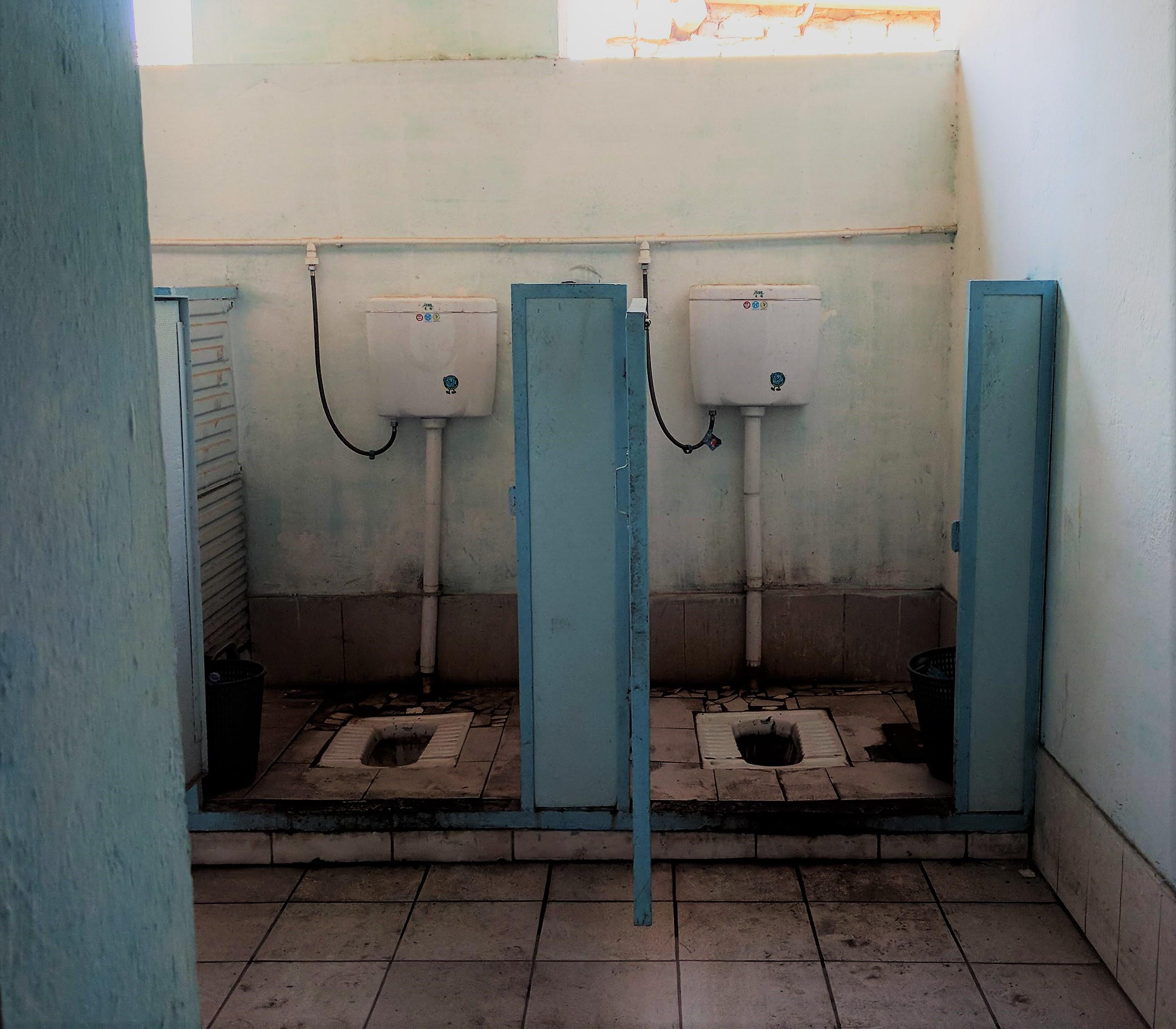 De gemiddelde wc in de Fergana Valley