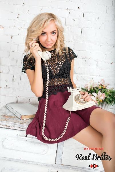 Photo gallery №1 Ukrainian bride Irina
