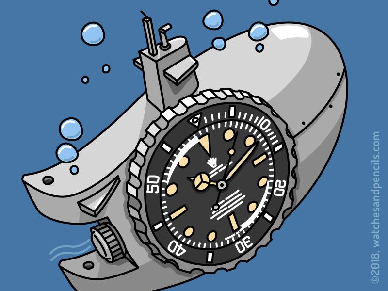 Rolex Submarine-r