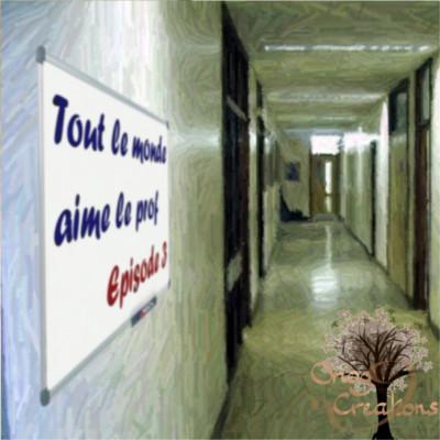 Pochette de l'épisode 3 de TLMALP - Un couloir avec un tableau sur le mur
