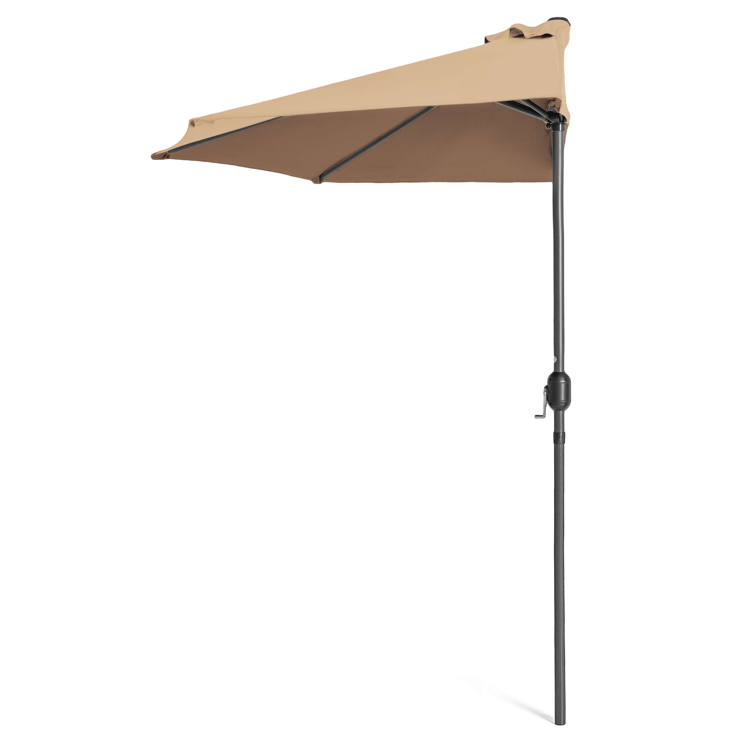 BCP-9ft-Half-Patio-Umbrella-w-Crank-Steel-Frame-UV-amp-Water-Resistant-Fabric thumbnail 32