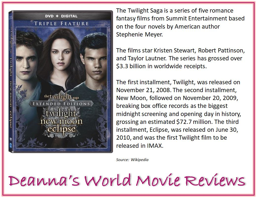 Twilight Saga blurb
