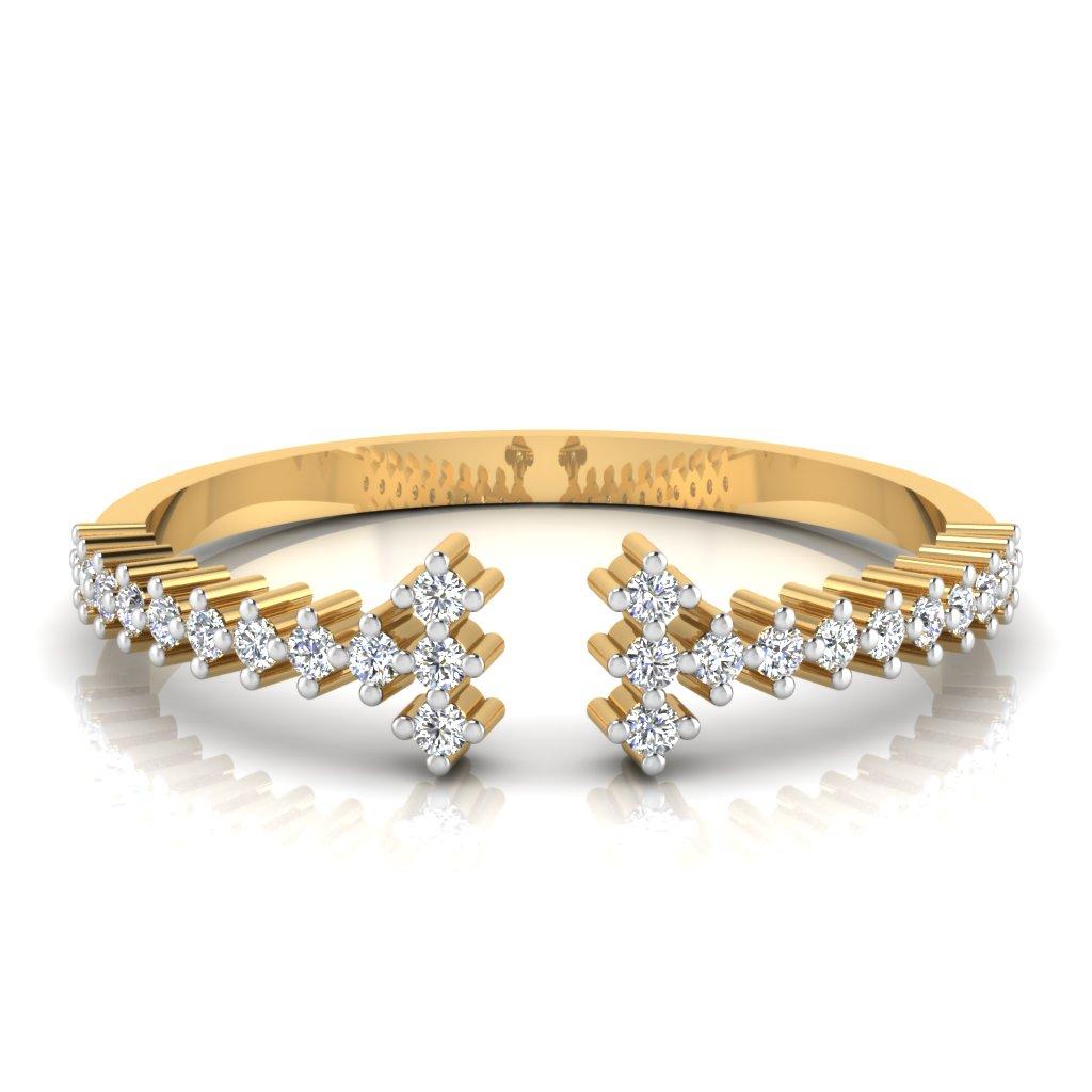 The Prisma Diamond Ring
