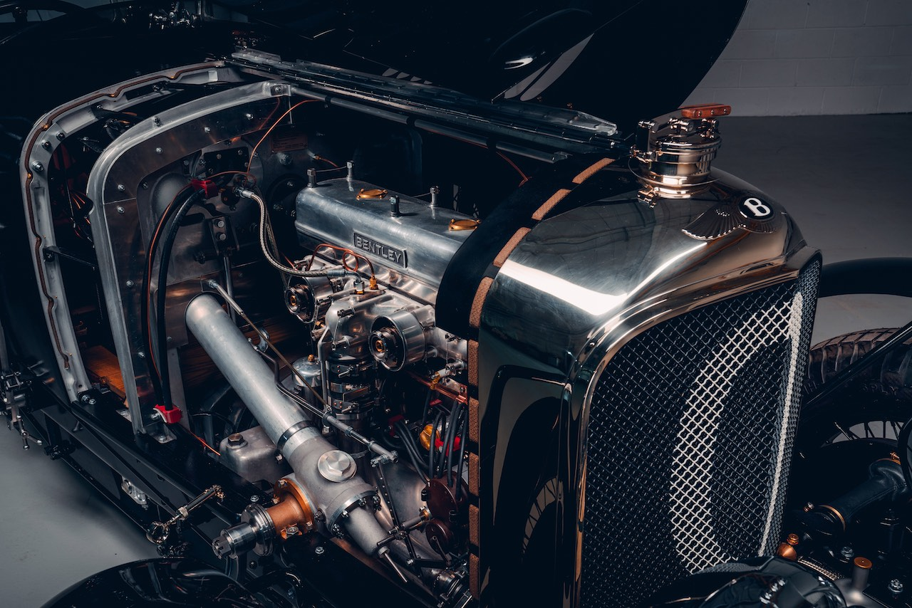 Car Zero makes debut as first new Bentley Blower since 1930