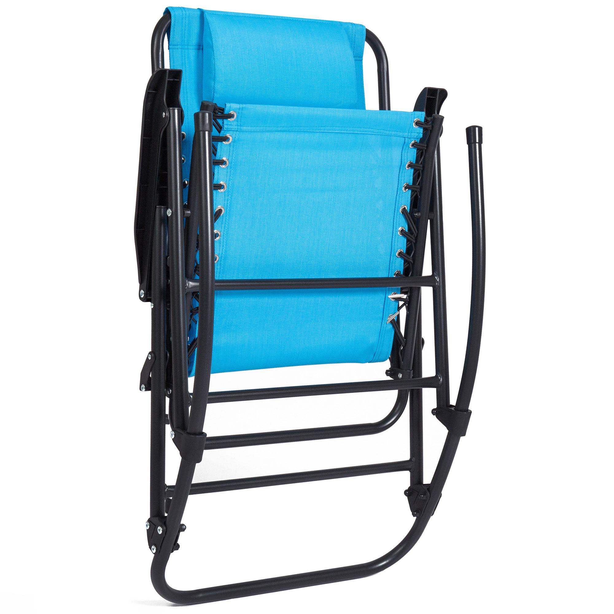 BCP-Foldable-Zero-Gravity-Patio-Rocking-Lounge-Chair thumbnail 47
