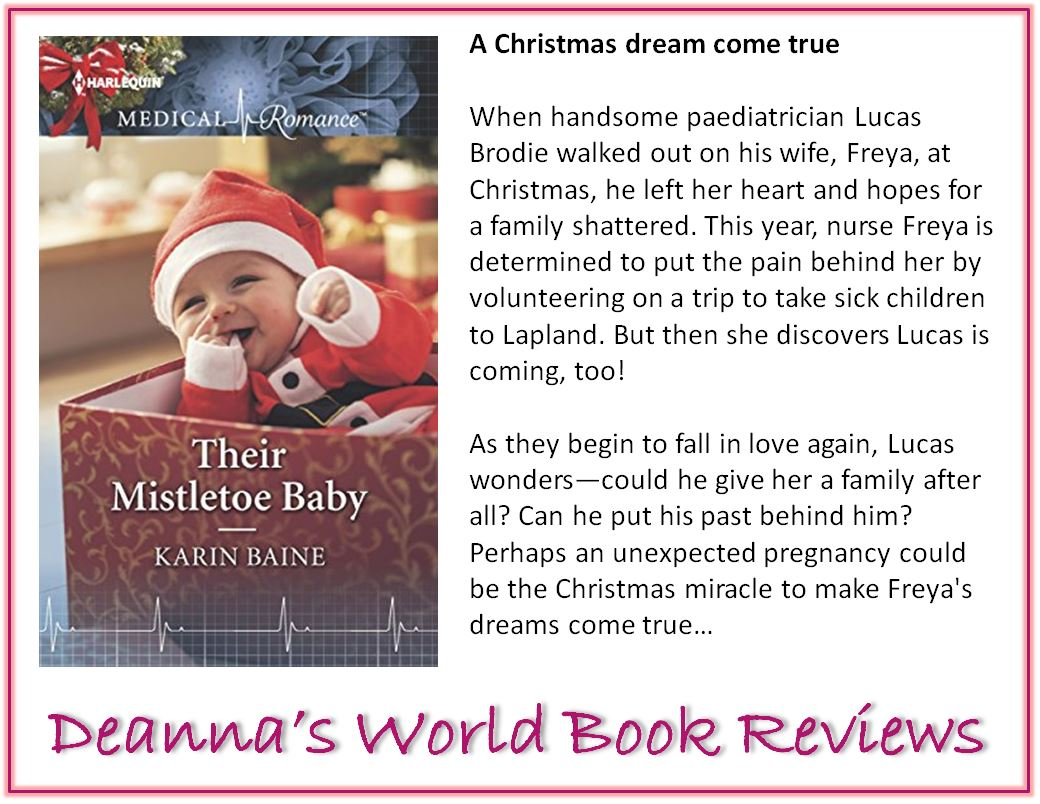 Their Mistletoe Baby by Karin Baine blurb