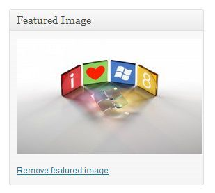 Featured Images Remove