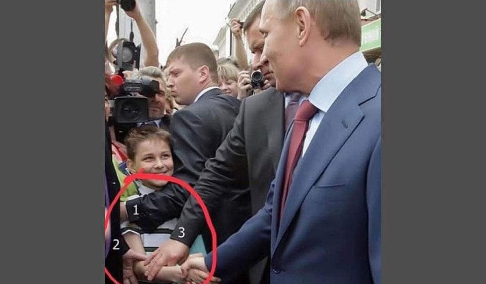Реальное лицо Путина и маска власти