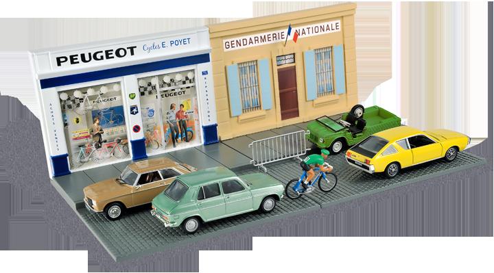 Une scène de rue de 1974. Cliquez pour afficher en HD