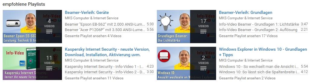 Hat der Interessent auf YouTube die passenden Infos bekommen, meldet er sich ggf. auch zum Newsletter an.