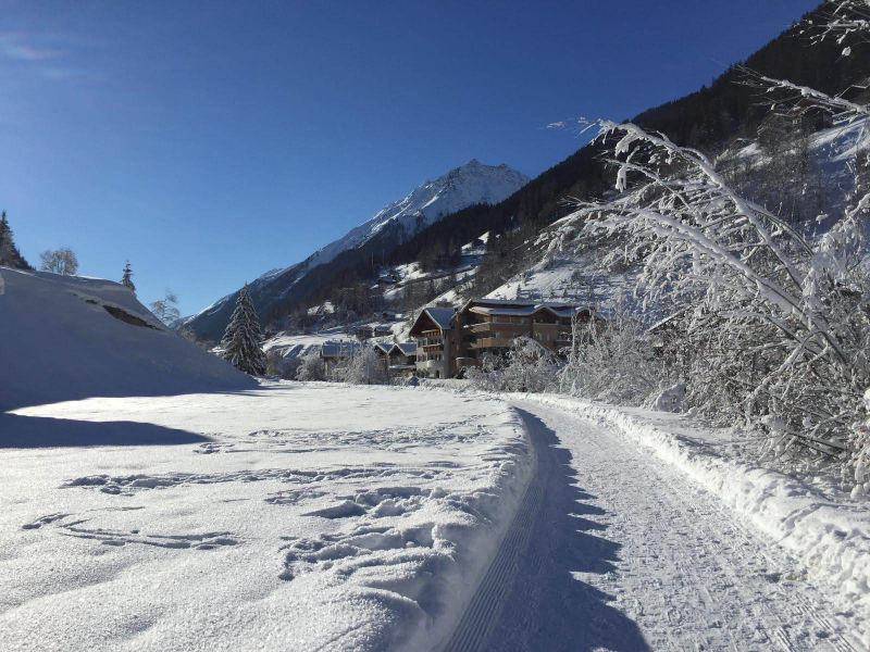 Winterlandschaft in Kappl Tirol