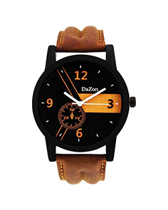 Stylish Designer Analog Watch for Men Brown