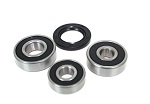 Rear Wheel Bearings and Seals Kit Kawasaki KX80 1979 1980 1981 1982