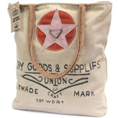 vintage Bag - dry goods & supplies