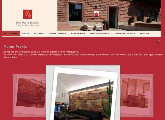 Die Website von Elke Maria Seubert wurde im Januar 2009 erstellt und über die Jahre immer wieder aktualisiert.